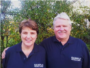 Saniflo Approved Service Engneers